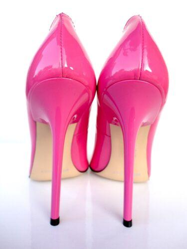 Schuhe Fuxia Rosa pelle in rosa a in Giohel Décolleté pelle Decolte 39 punta Décolleté Italy Oq7Ax0