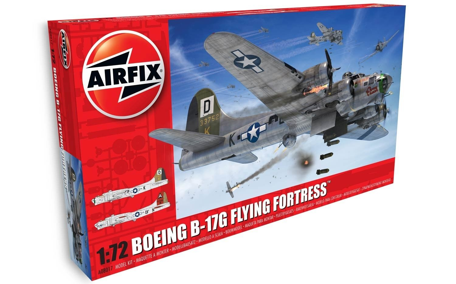 Airfix 1 72 Boeing B-17G Flying Fortress  NEW TOOLING  A08017