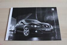 138421) Seat Leon - technische Daten & Ausstattungen - Prospekt 07/2008