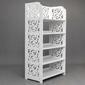 5-Tier-Wood-Storage-Organizer-Standing-Shoe-Rack-Shelf-Cabinet-Space-Saving