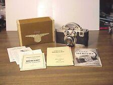 Univex Mercury I, CC, 35mm camera  f 2 lens 1940s working  serial #3142