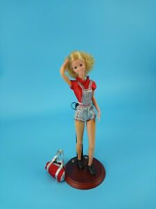 """Rare Mattel 1979 Starr Doll 12"""" Articulated Curly Blonde Jazzie Body + 2 Outfits"""