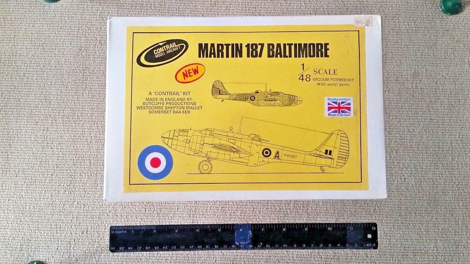 Contjärnväg  Sutcliffe 1  48 Mkonstin 187 Baltimore Medium Bomber Great Vac Kit