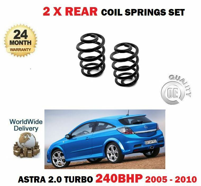 For Opel Opel Astra 2.0 TURBO VXR 240bhp 2005-2010 2 X Rear Suspension Springs Set
