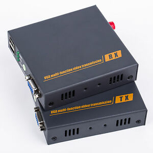 Vga To Fc Optical Fiber Media Converter Extender 20km One