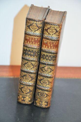 RABELAIS-LES-OEUVRES-1691-A-LA-SPHERE-2-Vol-complet