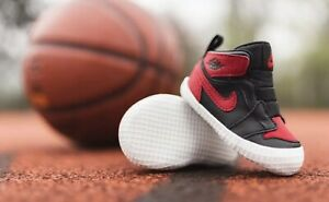 NIKE-AIR-JORDAN-1-BANNED-CRIB-BNIB-ORIGINAL-KIDSNEAKRS-KINDERSCHUH-KIDS