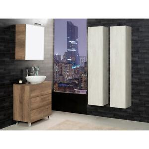 Composizione bagno unika 70 mobili arredo bagno lavabo specchio e miscelatore ebay - Miscelatore lavabo bagno ...