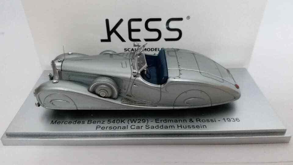 1 43 KESS Mercedes Benz 540K W29 Erdmann & Rossi 1936 coche personal Sadam Husein