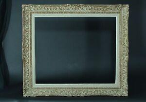 Beau-cadre-tableau-ancien-Montparnasse-Fleur-de-lys-bois-Cornice-Frame-10-12-f