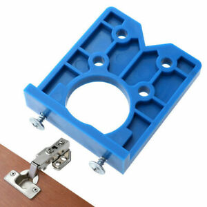 Concealed-Hinge-Jig-Guide-Set-Boring-Hole-Template-35mm-Woodworking-Drill-Tool