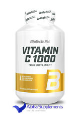 BioTechUSA Vitamin C 1000 - 100 Caps | Supports Immune System | Value Pack !