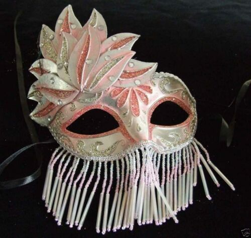 Venetian Veil Mask Your Choice Color Mardi Gras Costume Prom Party Masquerade