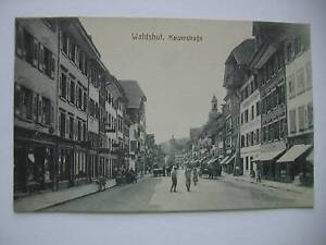 Ansichtskarte Waldshut Kaiserstraße 1922