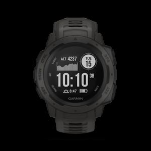 GARMIN Outdoor Smartwatch Instinct schiefergrau - schwarz 010-02064-00