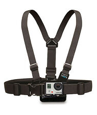 GoPro Chesty Strap Mount Harness Camera M-XXL HERO 7 6 5 4 Black Authentic