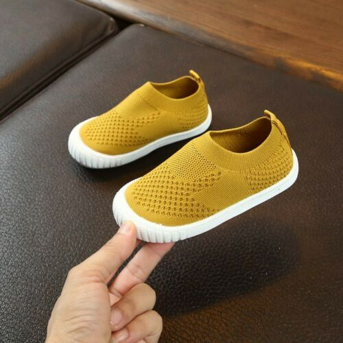 Children Shoes Kids Baby Girls Boys Solid Mesh Sport Run Sneakers Shoes US