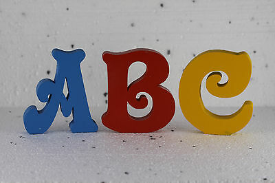 Wooden freestanding Handcut letters/ numbers var sizes free painting and post