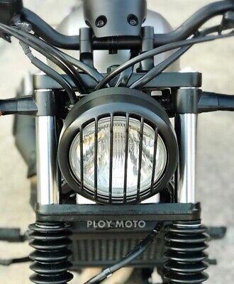 Fibra de carbono Motocicleta CMX500 CMX300 Cubierta de faro Luz delantera L/ámpara Protector de parrilla Protector para 2017 2018 2019 2020 Hon-da Rebel CMX 500300 Piezas de accesorios