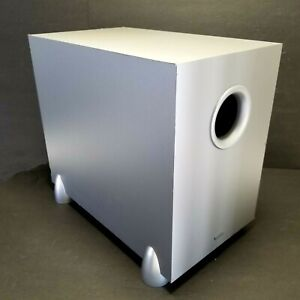 """Denon 8"""" Powered Subwoofer Model DSW-76 100 Watts Color Silver"""