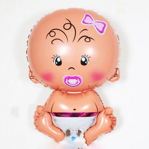 5pc Baby Dusche Folie Ballon Geburtstag Party Cartoon Fuß Spielzeug Luftballons