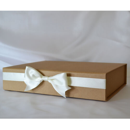 Personalised Christening Baby Childs Birthday Guest Book Scrapbook Album Boxed