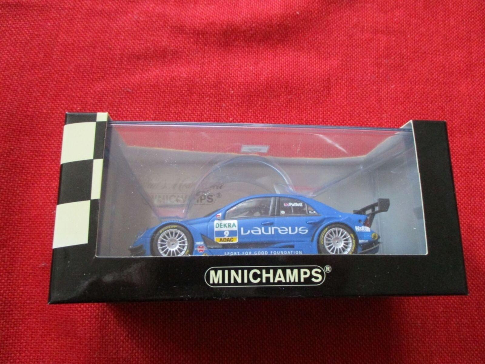 Minichamps ® 400 073609 1 43 MERCEDES-BENZ C-CLASS DTM 2007 Persson Motorsport