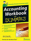 Accounting Workbook For Dummies by John A. Tracy (Paperback, 2006)