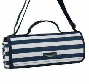 Summerhouse Carry Handle Travel Blanket Navigate Luxury Fleece Picnic