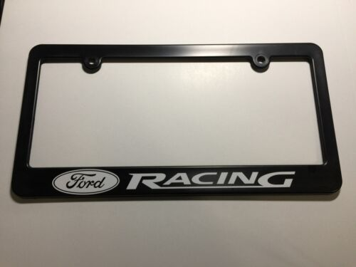 Ford Racing Logo Plastic License Frame Vinyl Decal Mustang Fusion Focus Gift