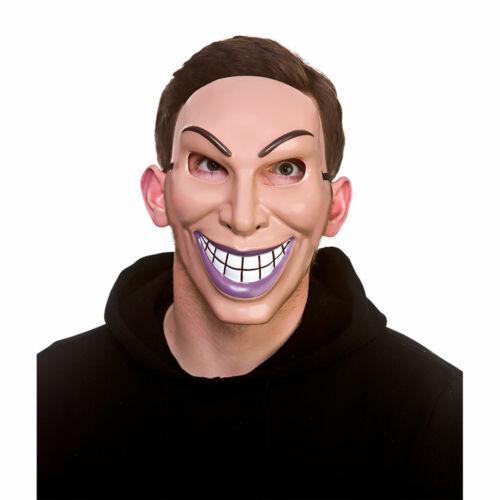 Freaky Robber Mask Purge Heist Halloween Mask Adults Fancy Dress Mens Ladies