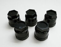 85-92 97-02 Camaro Rs Z28 Ss 5 Black Lug Nut Cover Caps Screw On 611-605