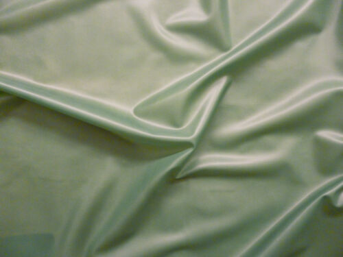 92cm Wide 0.45mm Thick Latex Rubber Semi Transparent Olive