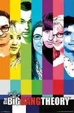 WARNER BROTHERS THE BIG BANG THEORY CAST SIGNAL POSTER 22x34 NEW FREE SHIP