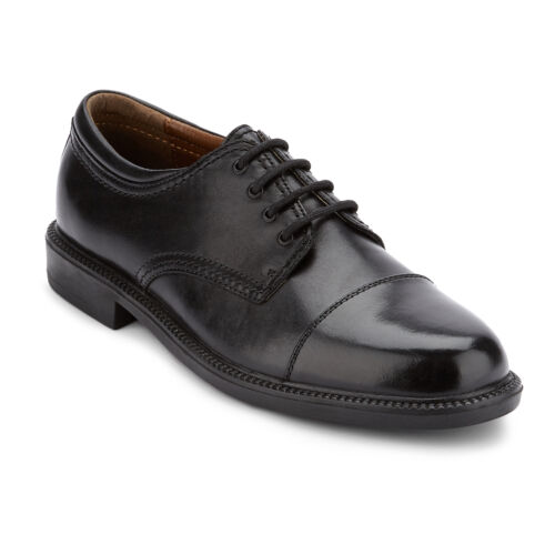 Dockers Mens Gordon Genuine Leather Dress Casual Cap Toe Lace-up Oxford Shoe