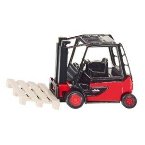 Carrello-ELEVATORE-Fattoria-Modello-del-veicolo-Siku-1311-giocattolo-in-miniatura-Linde-Diecast