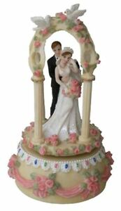 Musical Carousel Bride Groom Wedding Gift