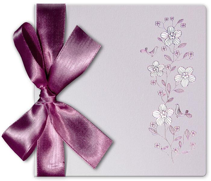 Einladungskarten Hochzeit FE42B mit Umschlag  Hochzeitseinladungskarte