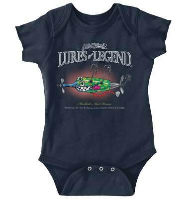 Baby & Toddler Clothing Adroit Minnow Fishing Shirt Lure Gear Sporting Good Fish Gill Mcfinn Romper Bodysuit Complete In Specifications