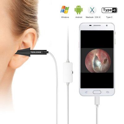 Beliebte Marke Teslong Mini Usb Ear Otoscope Inspection Camera 6 Led Light For Android Phones