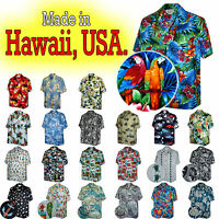 Hawaiian Shirts For Mens 100% Cotton Made In Hawaii, Usa. Huge Selection