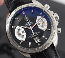 TAG HEUER GRAND CARRERA RS CHRONOGRAPH CAV511A  BOX/PAPERS /1 YR  GTEE 2010 YR