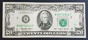AMERIQUE - AMERICA - UNITED STATES BILLET DE 20 DOLLARS 1993 SUP.