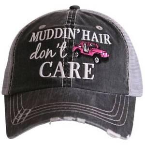 c57083f8af47c Image is loading NWT-Katydid-Jeep-Muddin-Hair-Dont-Care-Trucker-