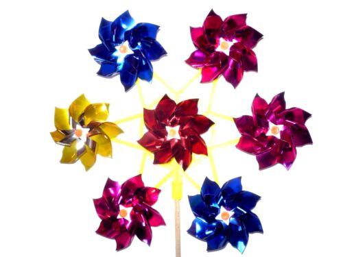 Windräder Windmühlen Windräder mit Rosetten für Kinder Gartenwindräder Windrad