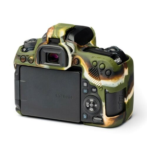 Easycover Camera case funda protectora para Canon 77d-camuflaje