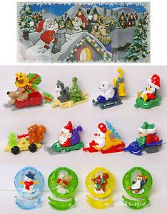 Komplettsatz-Weihnachten-2020-VV264-DV394-Kinder-Uberraschung-mit-allen-BPZ
