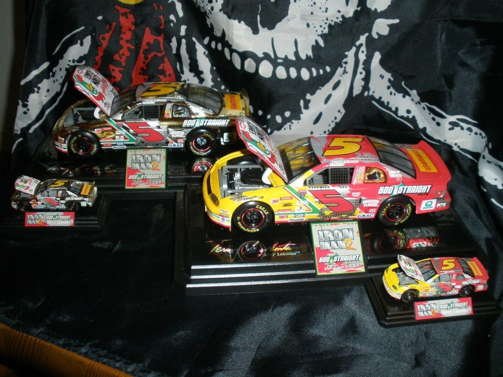 1998 Racing Champions Terry Labonte Iron Man 2 1 24 & 1 64 1 2,000 Produced