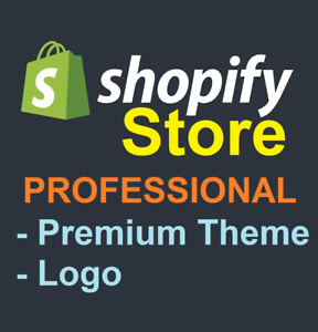 Build Professional Ecommerce Store Shopify Website Store For Selling Products