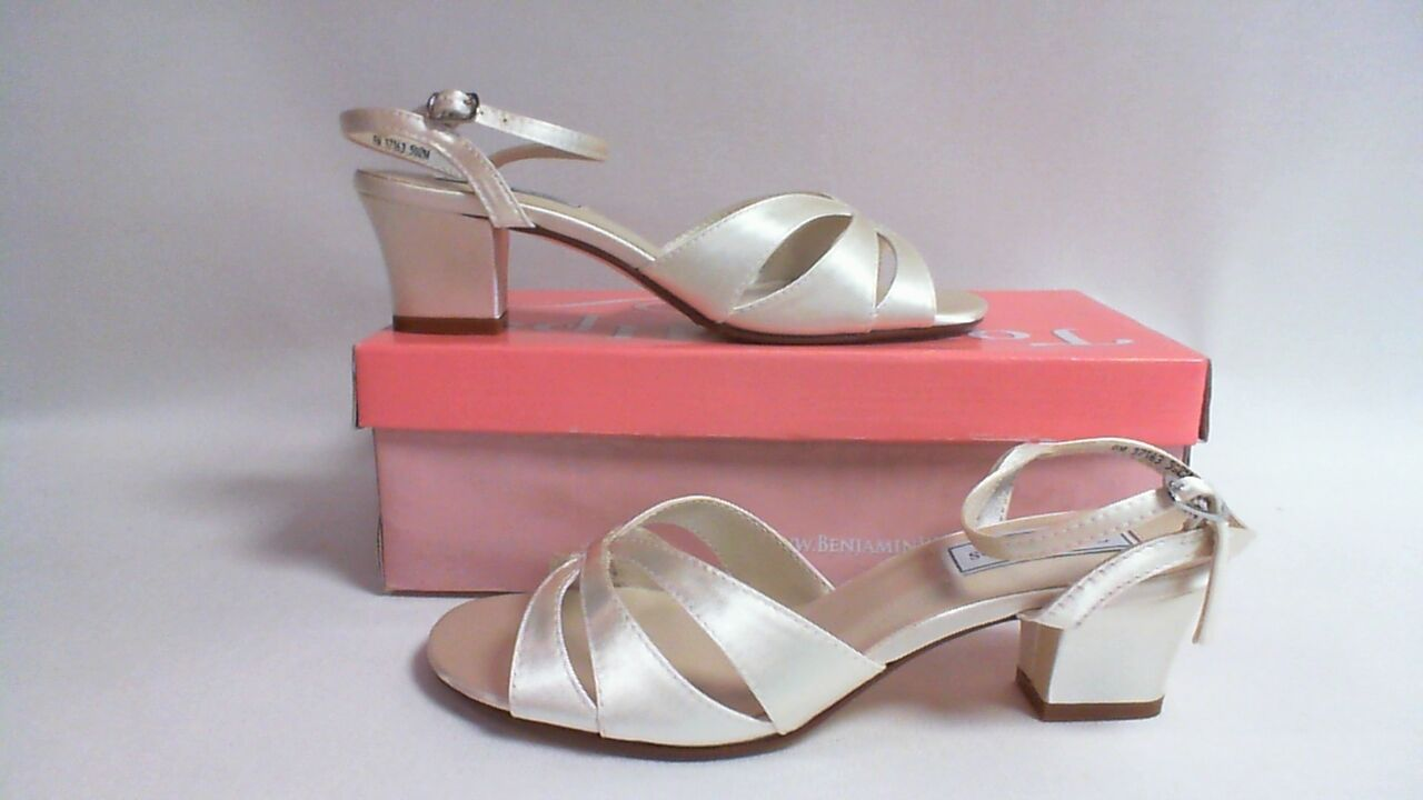 Touch Ups Bridal/Wedding Shoes/Sandals - Monaco - White - US 9M - UK 7 #22E320